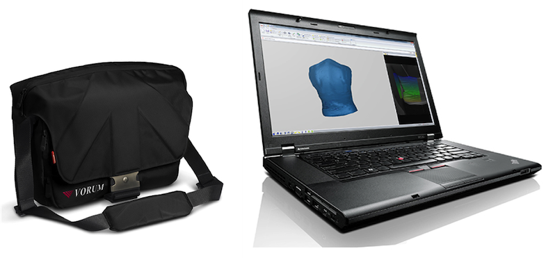 spectra 3d scanner software