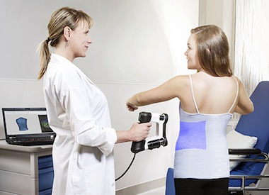 1. Scan your patient's shape