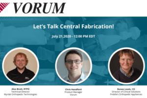 Let's Talk Central Fabrication Webinar
